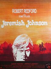 Jeremiah Johnson Robert Redford  movie poster print