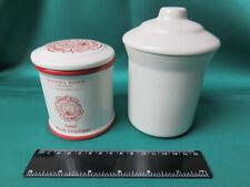Stilton Pots ceramic with lids, empty, choice of two