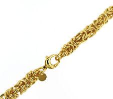 Königsarmband rund vergoldet o. Gold Doublé Armband Damen Herren ITALIEN Schmuck