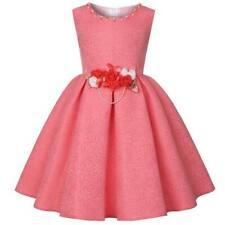 Bridesmaid flower kid wedding party tutu girl formal dresses princess dress baby