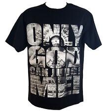 ONLY GOD CAN JUDGE ME! Black Men's T-Shirt