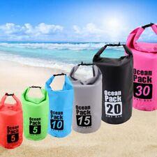 Hi-Q Outdoor Backpack Kayak Ocean Pack Waterproof Dry Bag Sack Multi Color 5-30L