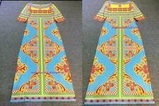 MW009839 - DESIGNER MULTICOLOUR JERSEY SILK MAXI DRESS (#493C)