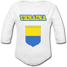 Body Bébé Football Ukraine Ukraina - Euro 2016