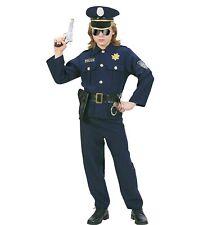 Costume Carnevale Bimbo Divisa Poliziotto PS 19957 Travestimento Polizia