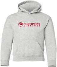Northwest Airlines Retro US Airline Logo HOODY