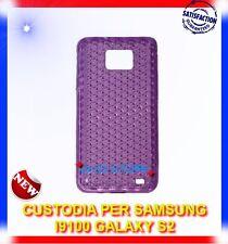 Pellicola+Custodia EXA VIOLA per Samsung I9100 galaxy s2 plus I9105