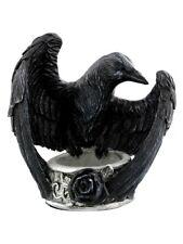 Alchemy Raven's Ward Tea Light Holder Candles & Incense 11cm