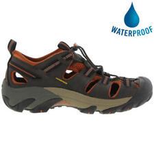 Keen Arroyo II Mens Dark Brown Waterproof Walking Hiking Water Sandals Size 8-14