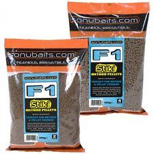 Brand New Sonubaits Sonu Baits F1 Stiki Method Pellets - All Sizes Available