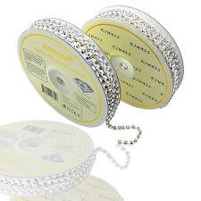EIMASS® 3575 Grade A Rhinestone Cup Chain, Glass Diamante Crystals Trimming