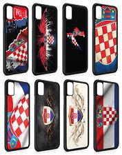 iPhone Silikon Slim Handyhülle Case Cover Schutz Kroatien Hrvatska Fahne