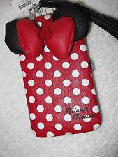"""Minnie Mouse iPhone Wallet Case Wristlet Case Blackberry Smart Phones 3.5"""" x 5."""