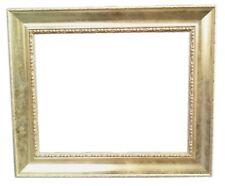"""Cornici  oro a """"Vassoio"""" per quadri con intagli ai margini .Cornice100% in legno"""