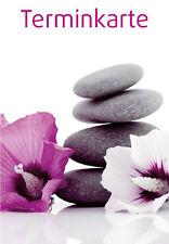 Terminkarten Terminzettel für Wellness Massage Kosmetik *Sonderpreis*