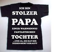 T-Shirt  ICH BIN STOLZER PAPA EINER WAHNSINNIG FANTASTISCHEN  TOCHTER ......