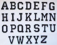 Lettre Lettres patche flocage lettrage hotfix thermocollant floquer au choix