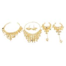 Parure de Bijoux Orientaux Comprenant Collier, Bracelets Boucles D'oreilles