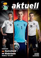 Länderspiel 15.11.2011 Deutschland - Niederlande