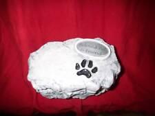 Ceramic Dog /cat/Pet Paw Urn/cremation/memorial/Plate/