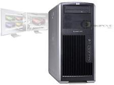 HP XW8200 Dual Xeon CPU's 2.8GHz/2GB RAM/Quadro NVS 285/80GB Workstation PC