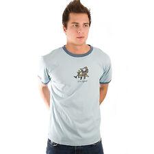 Life is Good Light Blue Mens Sleep Muskoka Chair Pajama T-Shirt PJs Tee Top NWT