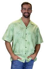 KY's Original Camisa Hawaiana Palmas Sombra Palmshadow Verde