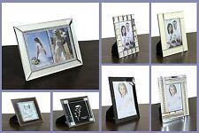 Marcos de fotos de plata moderna 4X6 5X7 6X8 10X8