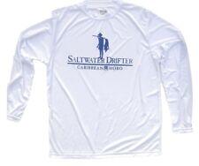New Caribbean Hobo L/S fishing performance t-shirt saltwater drifter fish boat