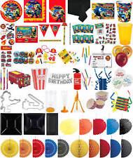 Kinder-Geburtstag Party Deko Feier Fete Motto Feuerwehrmann Flo