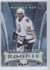 2007-08 Upper Deck Artifacts Silver Rainbow 181 Mathieu Roy Edmonton Oilers Card