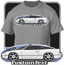 Custom Art T-Shirt for 1992 93 1994 S13 Nissan 240SX 240 sx Convertible SR20DET