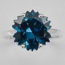 London Blue Topaz 925 Sterling Silver Ring Jewelry DGR1084_D