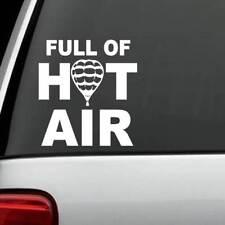 Full Of Hot Air Balloon Decal Sticker *B1130* Zeppelin Outdoors