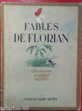 FABLES DE FLORIAN:ILL ARMAND RAPEÑO ALBIN MICHEL1949
