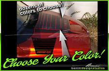 2002 & up Dodge Ram RAM AIR Hood Center Stripes Daytona SRT10 Racing Stripes 16