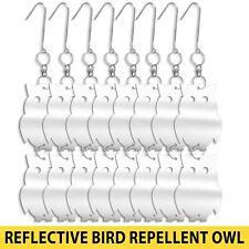 Bird Repellent Reflective Owl Decorative Scare Deterrent 16pk Keep Pest Away