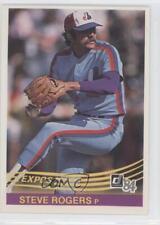 1984 Donruss #219 Steve Rogers Montreal Expos Baseball Card