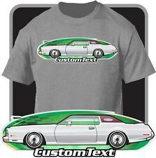 Custom Art T-Shirt inspired on 1972 73 74 75 76 Lincoln Continental Mark IV Mk-4