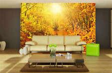 Golden Fairy Maple 3D Full Wall Mural Photo Wallpaper Printing Home Kids Decor
