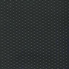 Black Perforated Marine Seating/Upholstery Vinyl like Naugahyde 5 Yds