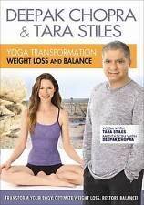 DEEPAK CHOPRA & TARA STILES YOGA TRANSFORMATION WEIGHT LOSS & BALANCE DVD NEW FS