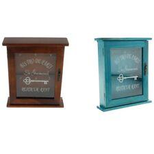 2X(Vintage European Style Wooden Key Storage Cabinet Key Holder Box with Ha V7E9