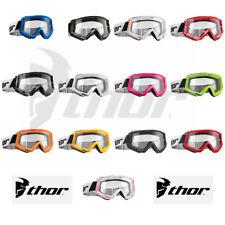 2018 Thor Combat Motocross Goggles Offroad ATV Dirt Bike Eye Wear - Choose Color