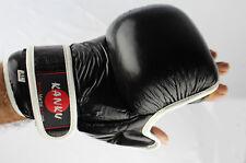 Kanku MMA Black Training Sparring GrapplingGloves Kick Boxing Muay Thai Training