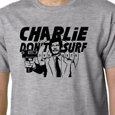 Charlie no Surf Camiseta Charles Bronson Deathwish Manson Gracioso Geek cita