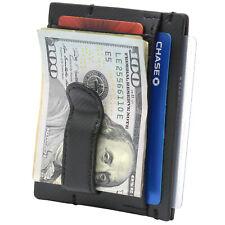 Alpine Swiss Double Diamond Men's RFID Money Clip Minimalist Front Pocket Wallet