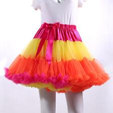 Women Adult Tutu Tulle Skirt Pettiskirt Petticoat Layers Princess Ballet Skirts