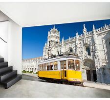 3D Bus Château 51 Photo Papier Peint en Autocollant Murale Plafond Chambre Art