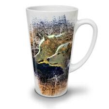 Wolf Beast Wild Animal NEW White Tea Coffee Latte Mug 12 17 oz   Wellcoda